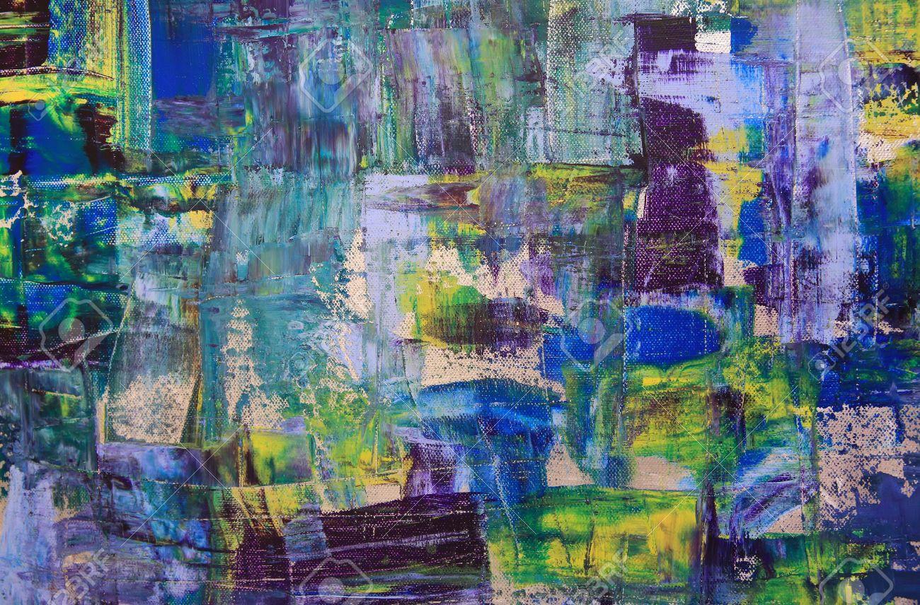 Moderne Kunst Bilder Auf Leinwand ~ Hintergrund der abstrakten kunst Ölgemälde auf leinwand bunte