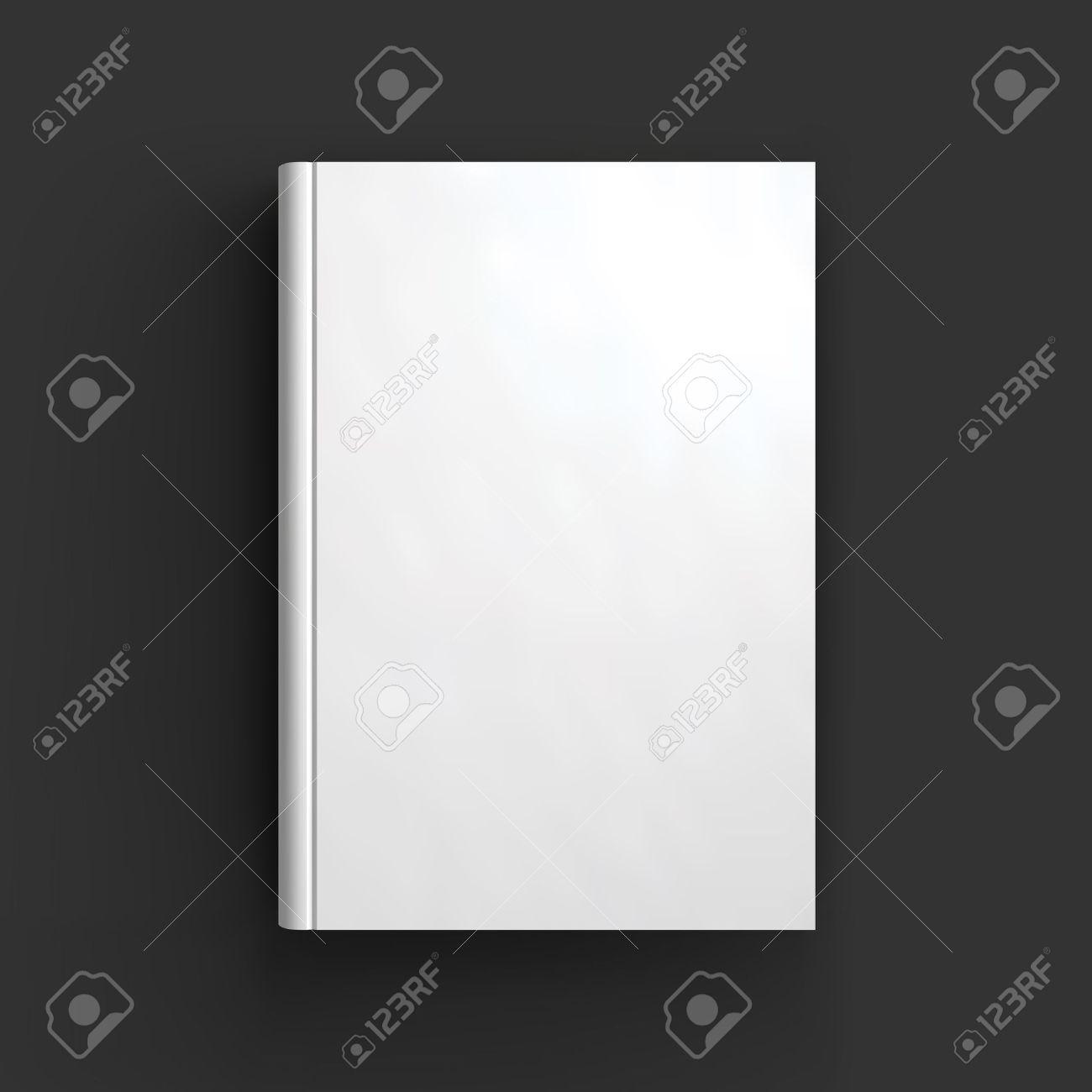 Blank Buch, Lehrbuch, Broschüre Oder Notebook Mockup. Objekt Für ...