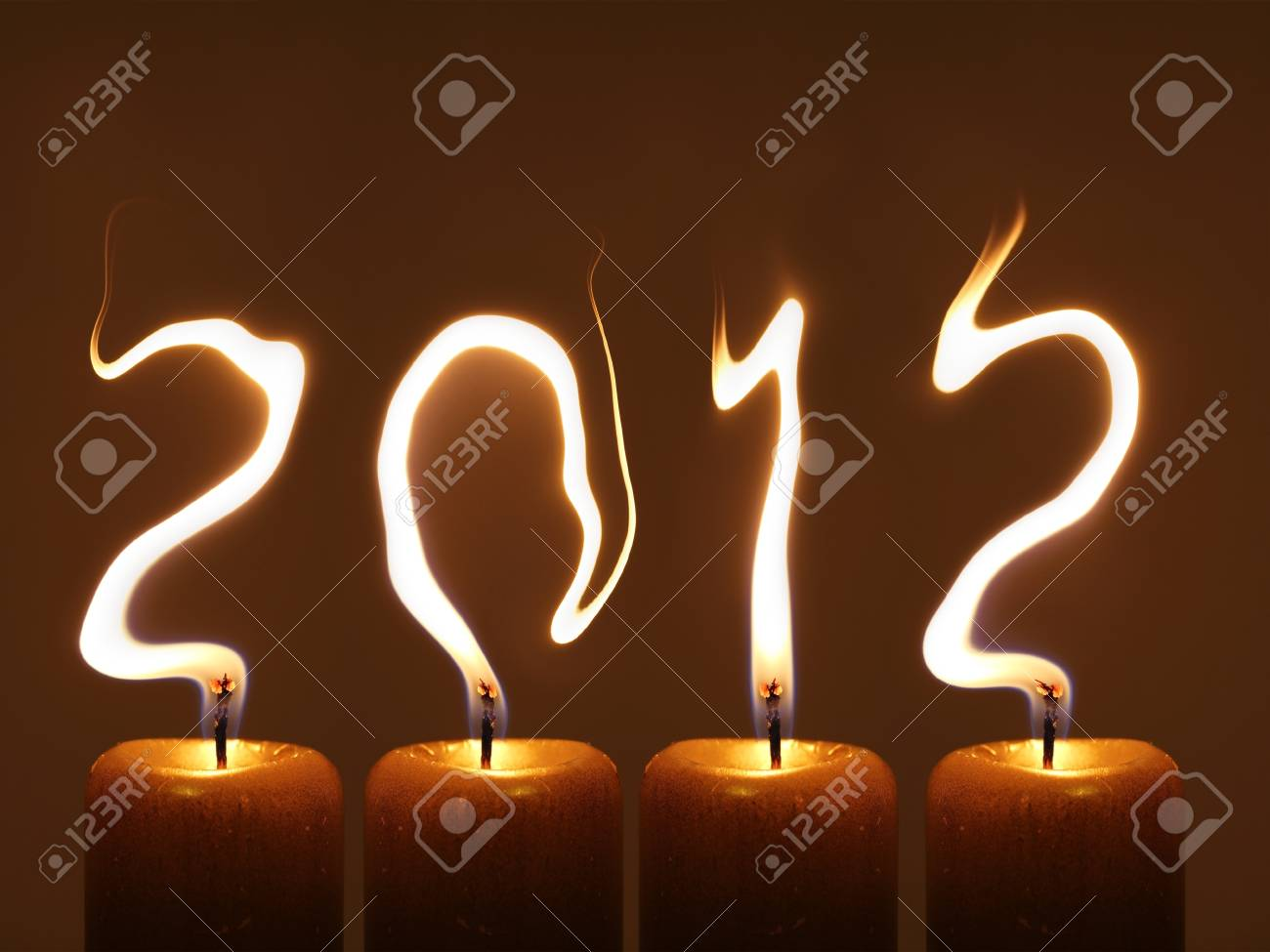 Happy new year 2012 - PF 2012 Stock Photo - 12995517