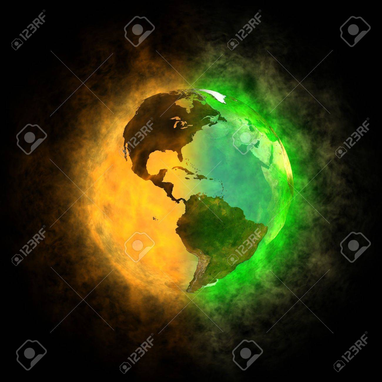2012 - Transformation of Earth - America Stock Photo - 13446770