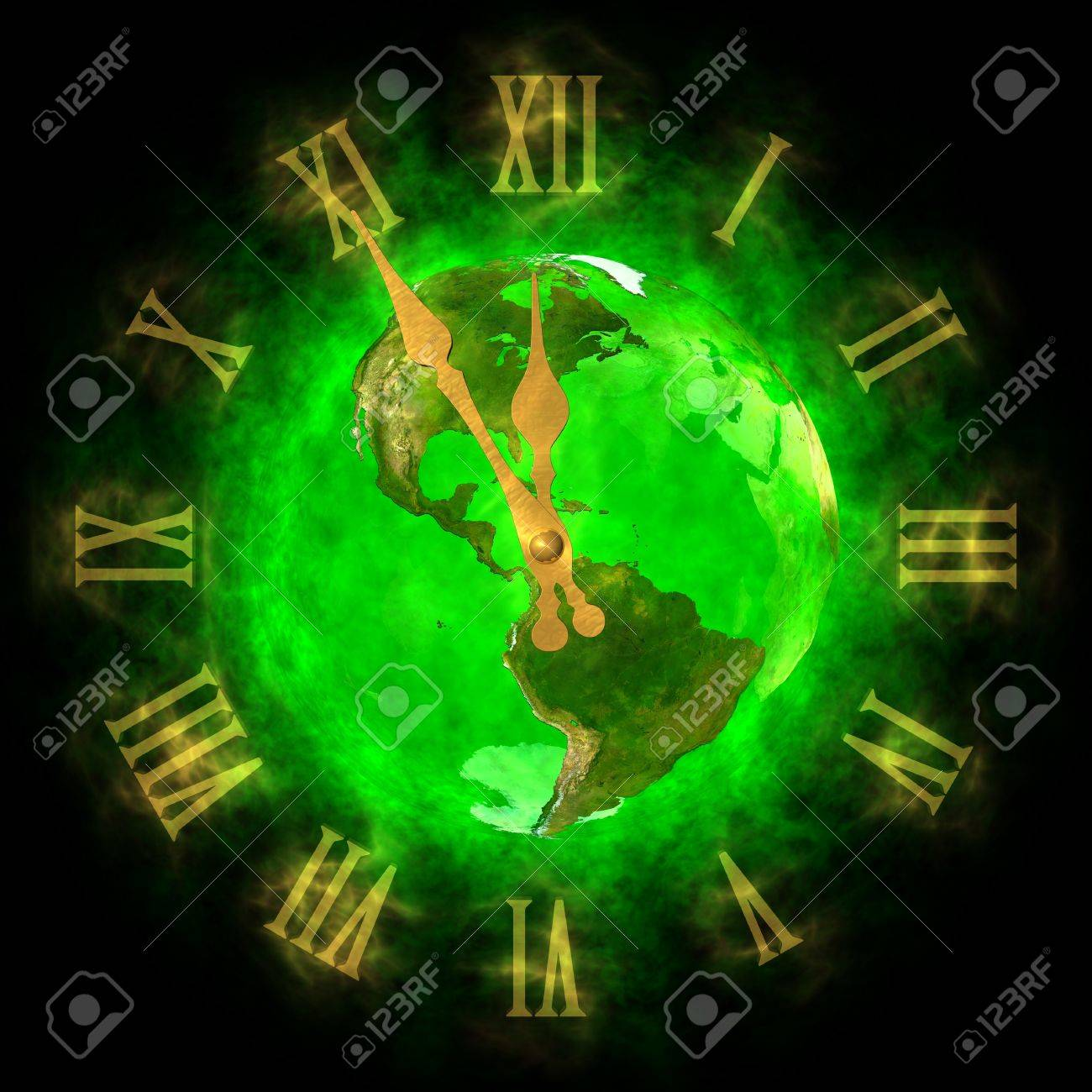 Good time on green planet Earth - America Stock Photo - 13933436