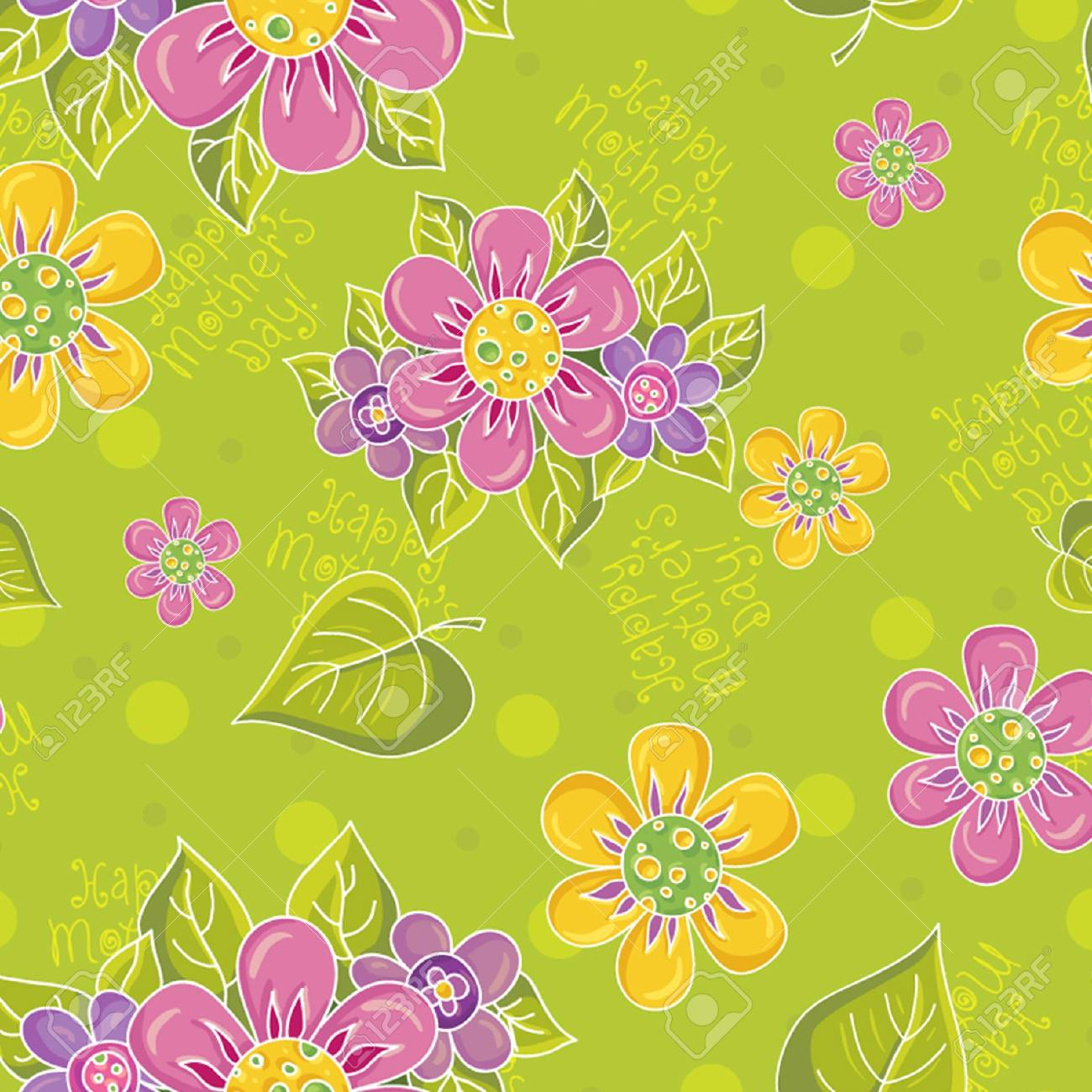 Seamless floral pattern Stock Vector - 14591728