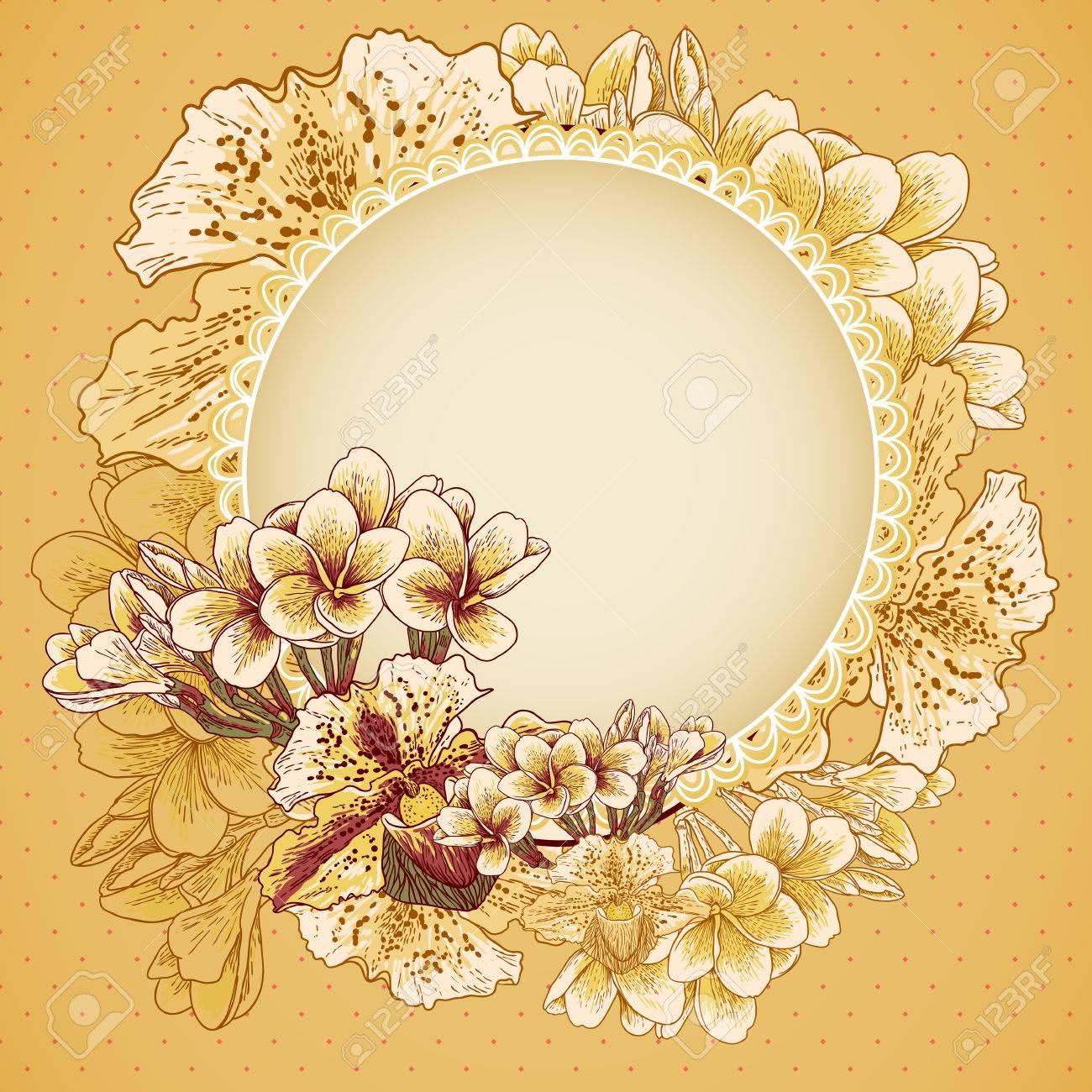 Flores exóticas de la boda