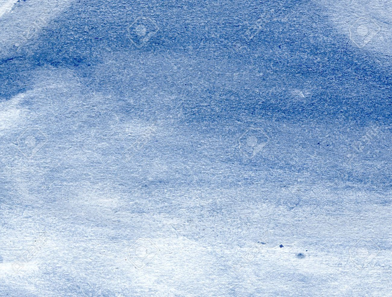 White Watercolor Wash On Blue Paper Stock Photo, Picture And ...