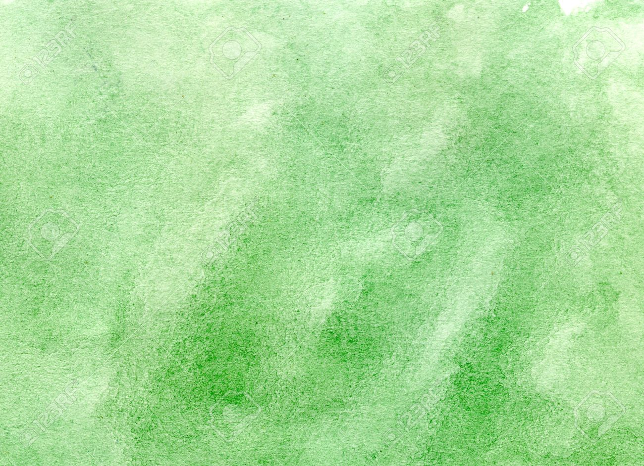 Green Watercolor Wash Background Stock Photo, Picture And Royalty ...