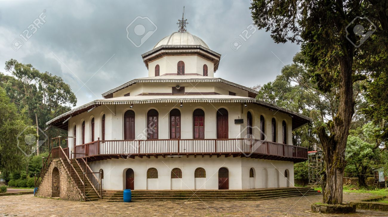 St Raguel Ethiopian Orthodox Church Built In The 1880s By Emperor