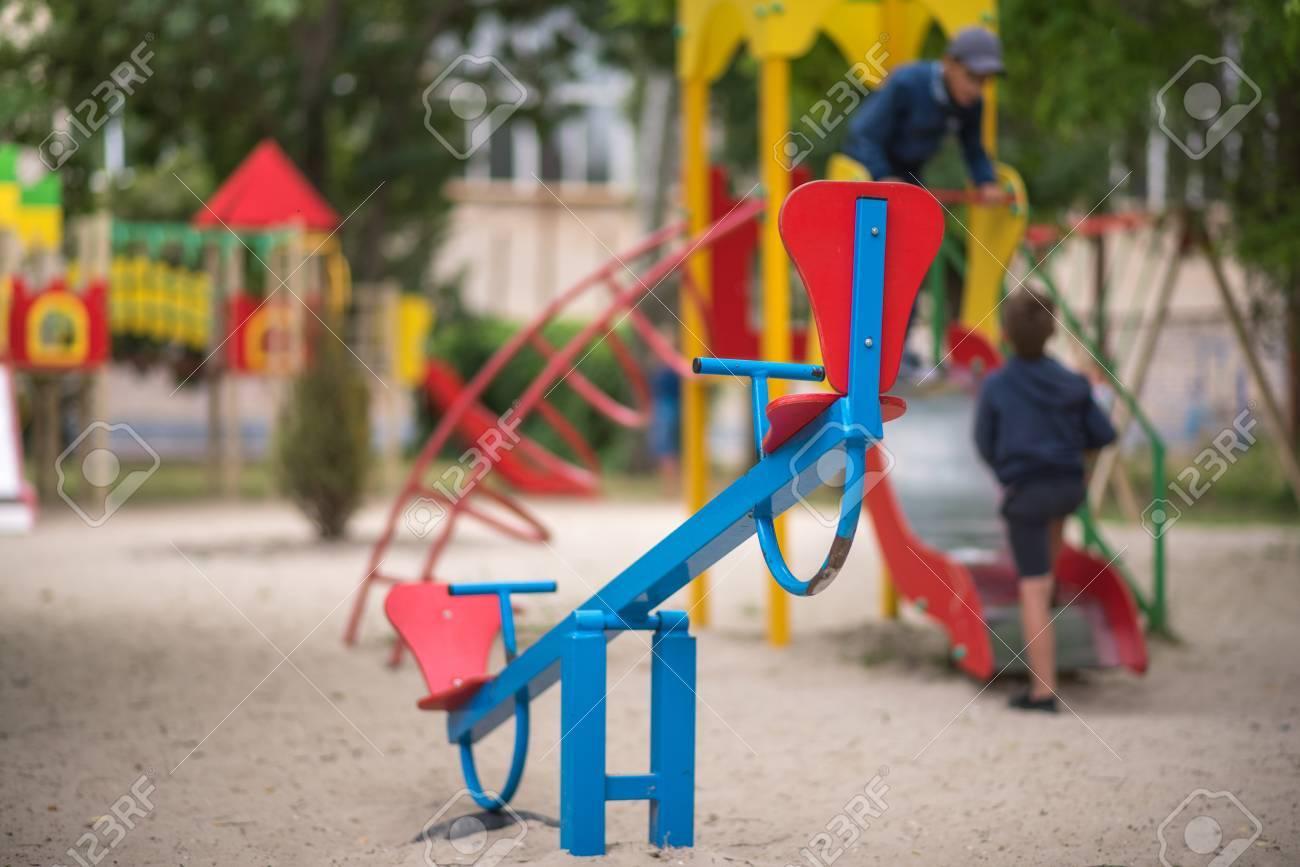 Zona De Juegos Para Ninos Pequenos Lugar De Entretenimiento