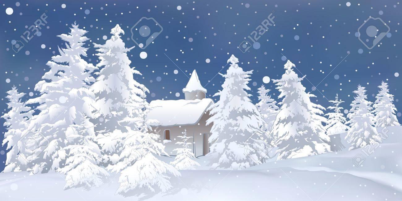 ホワイト ・ クリスマス - 雪の背景イラストのイラスト素材・ベクタ ...