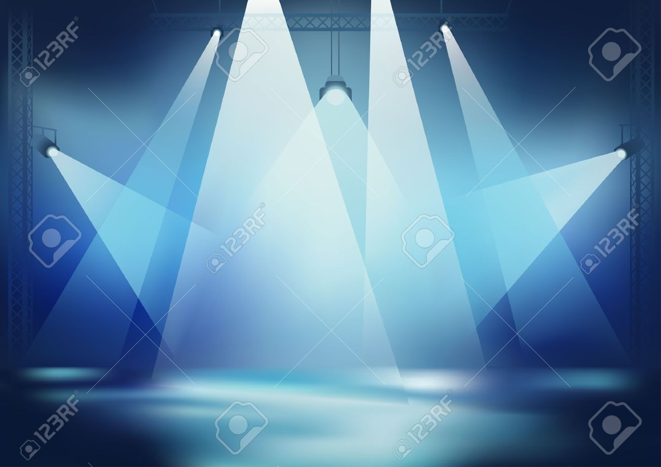 Stage Light Background For Dance Party Wallpaper Vector Royalty Free Cliparts Vectors And Stock Illustration Image 10533199