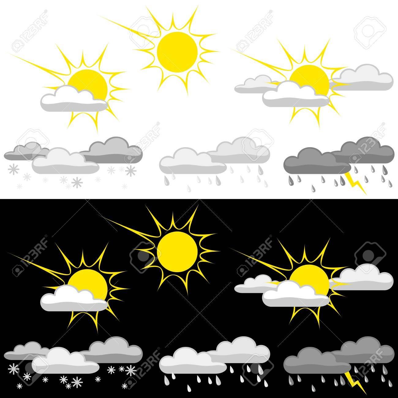 Weather Icon Set Stock Vector - 14111303