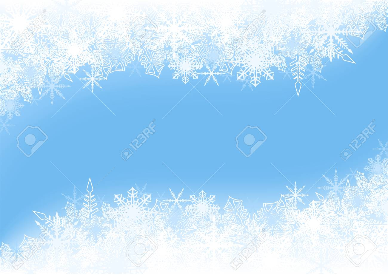 Winter Background - Christmas Illustration Stock Vector - 15170437