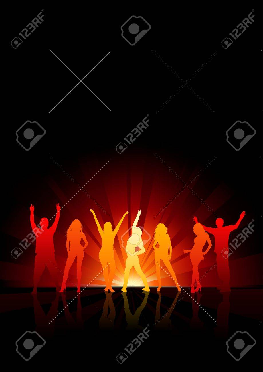 Dance Party - Night Life Stock Vector - 15332763