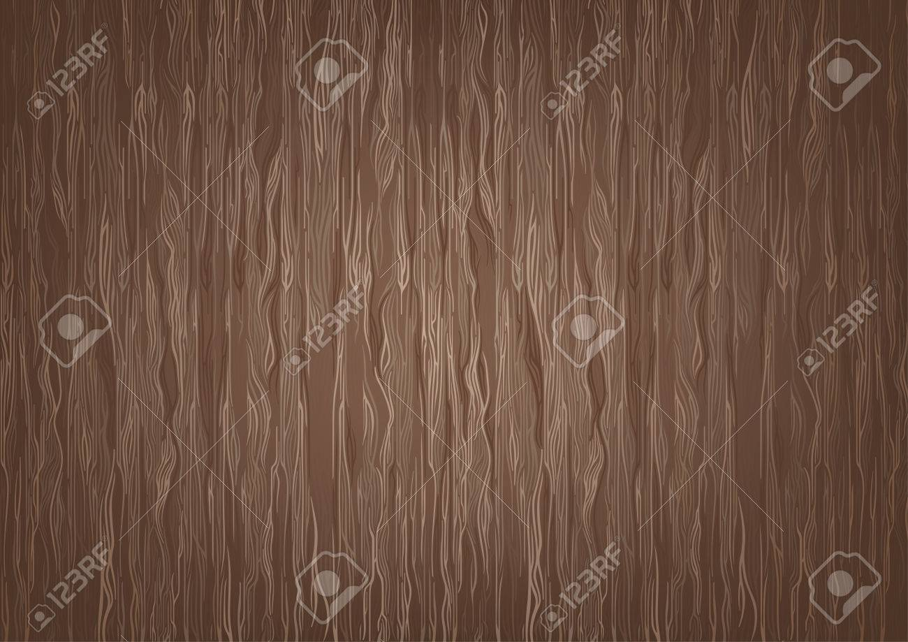 Brown Wooden Textured Background - Abstract Illustration, Vector - 74553840