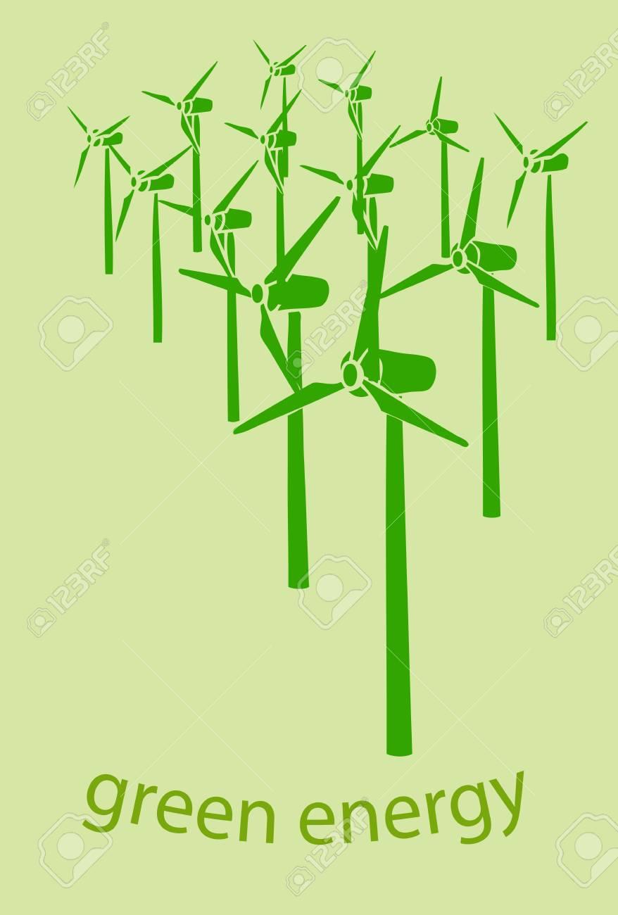 green energy Stock Vector - 15888167