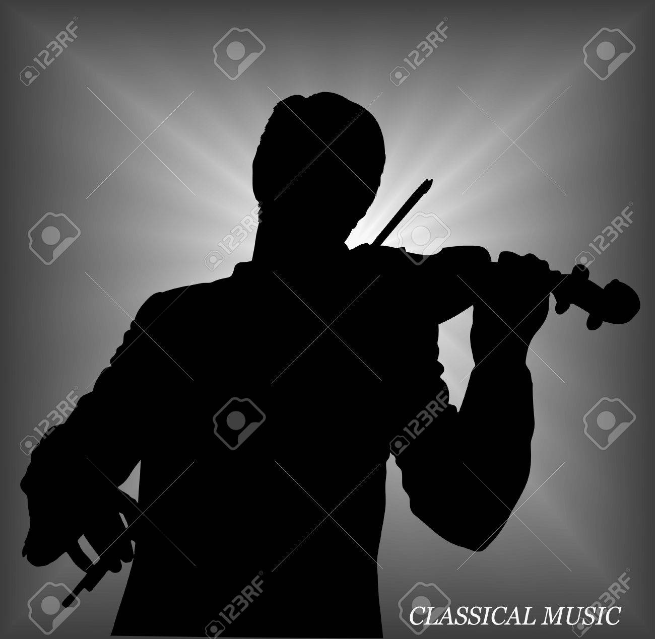 violinist Stock Vector - 15933448