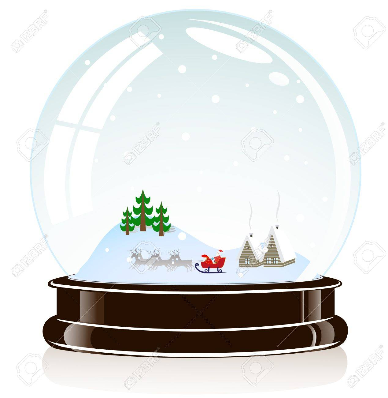 on the image the sphere a Christmas toy is presented Stock Vector - 16691014