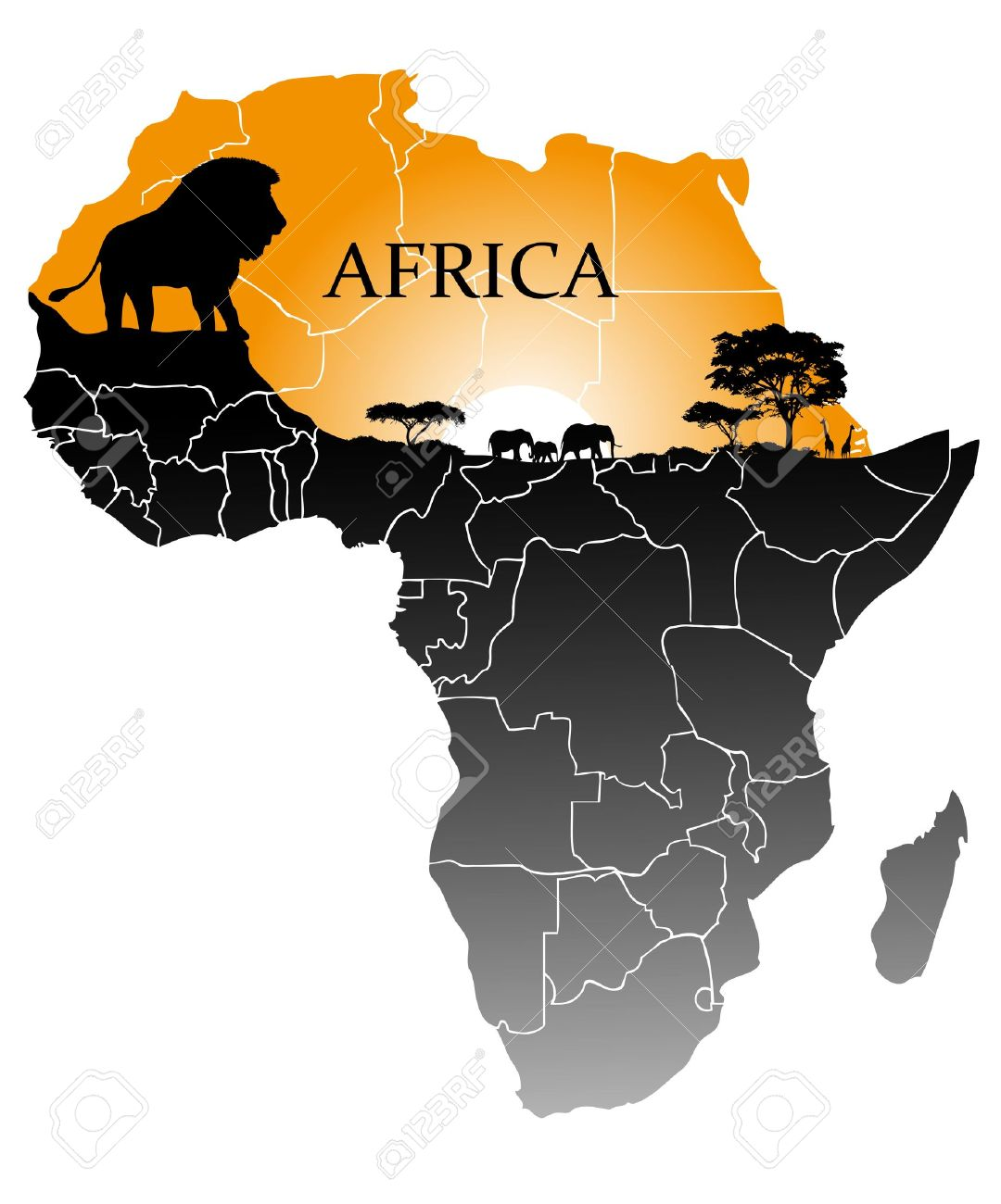 continent Africa - 18098280