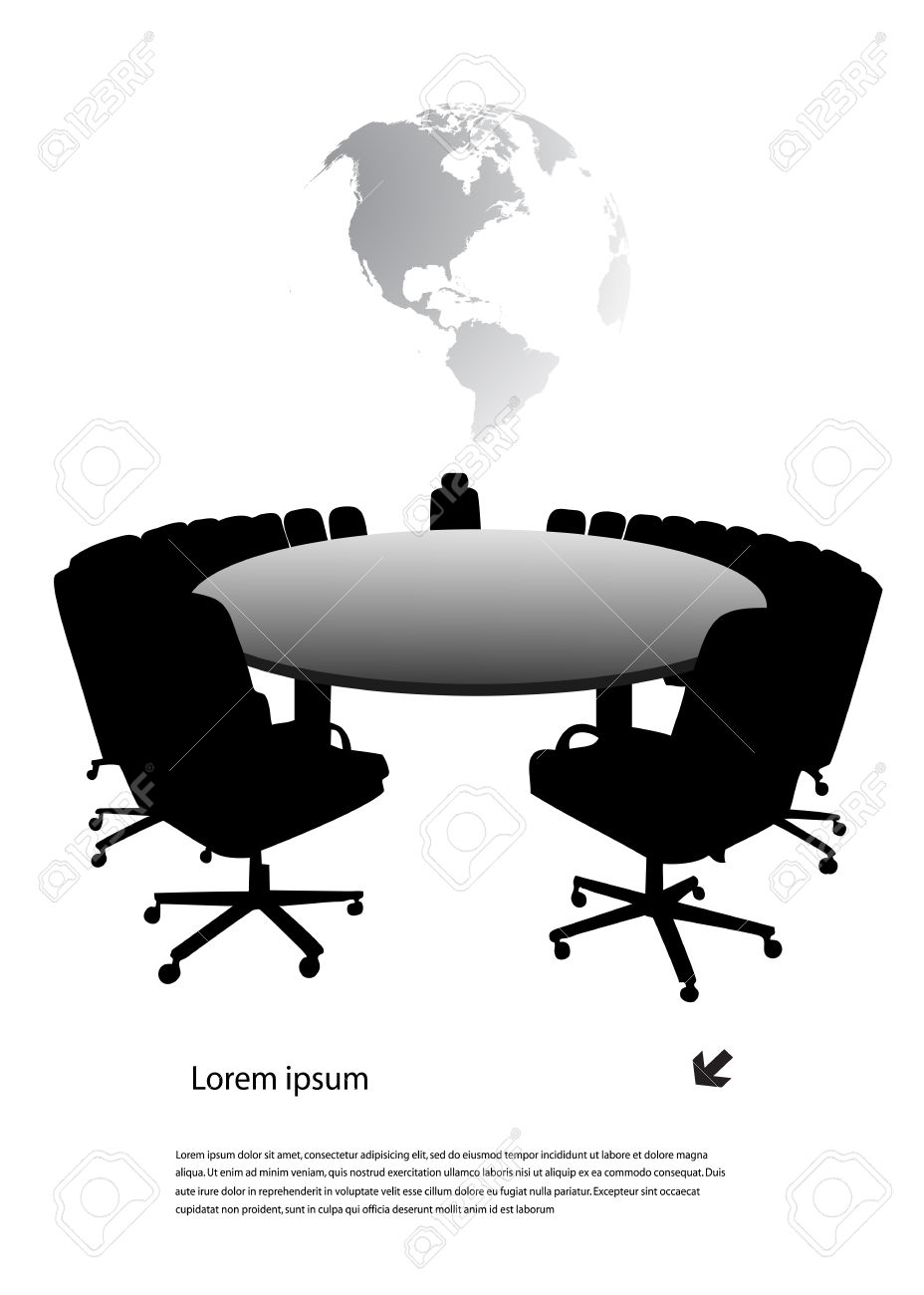 round table - 18755530