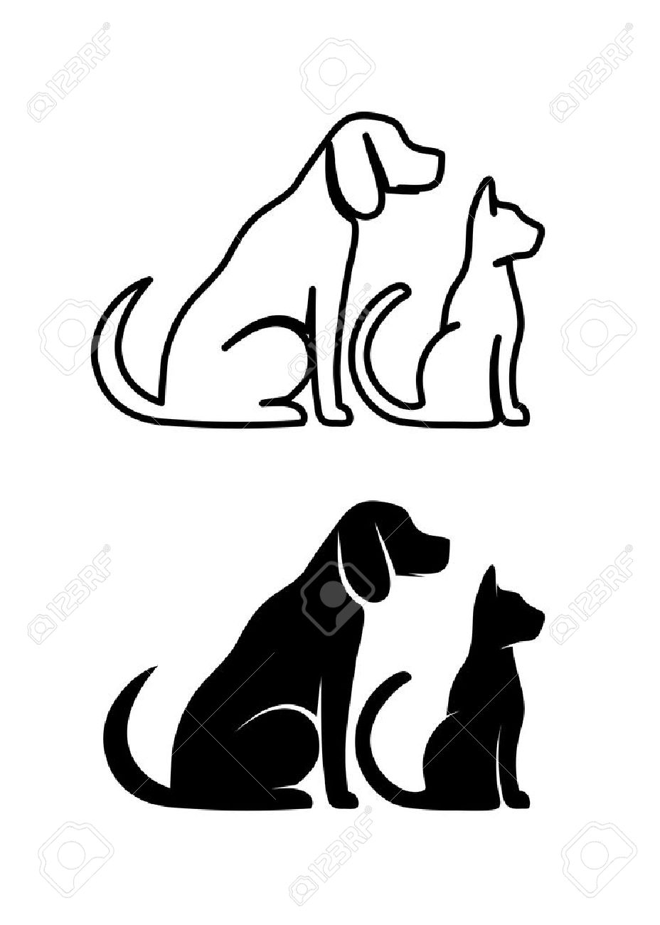 51 349 dog silhouette stock illustrations cliparts and royalty free