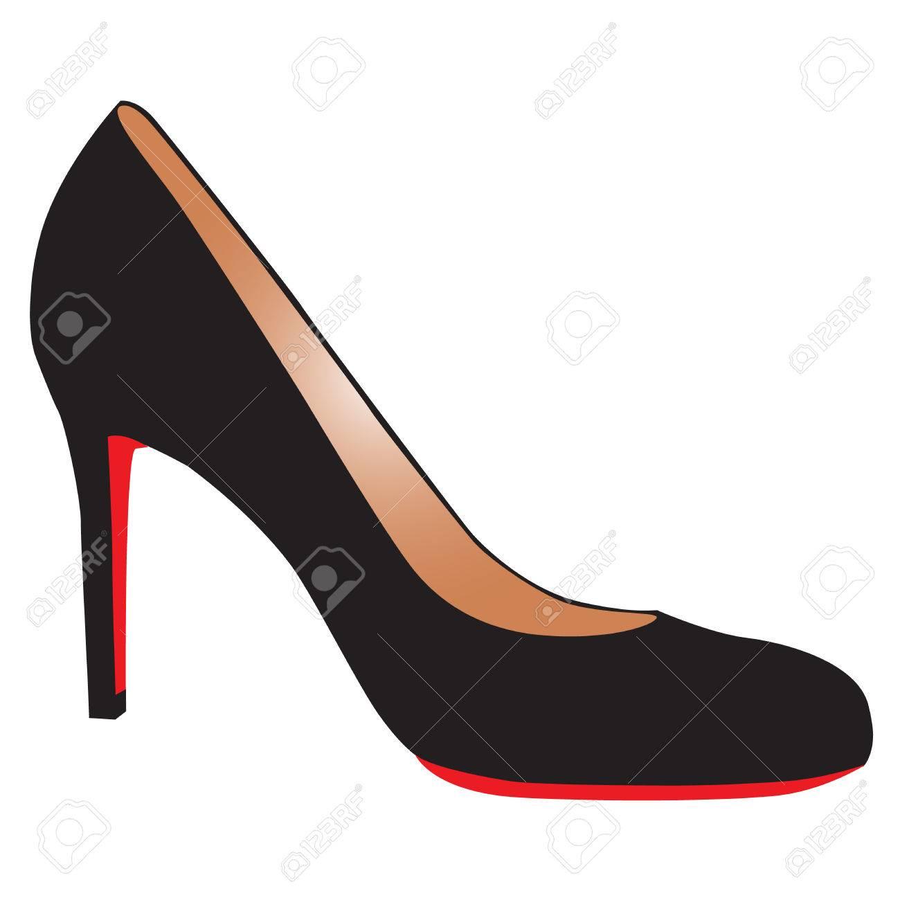 b2995c7e83e sexy black high-heel shoe with red sole