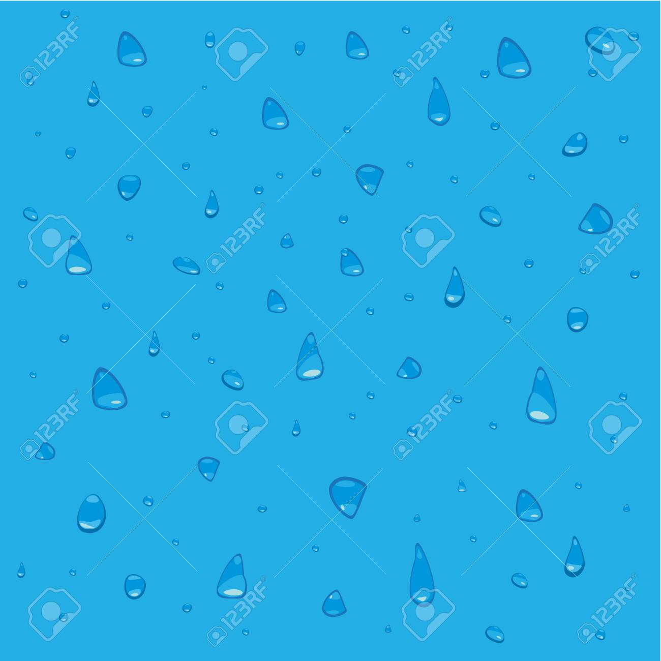 water drop background Stock Vector - 4237225