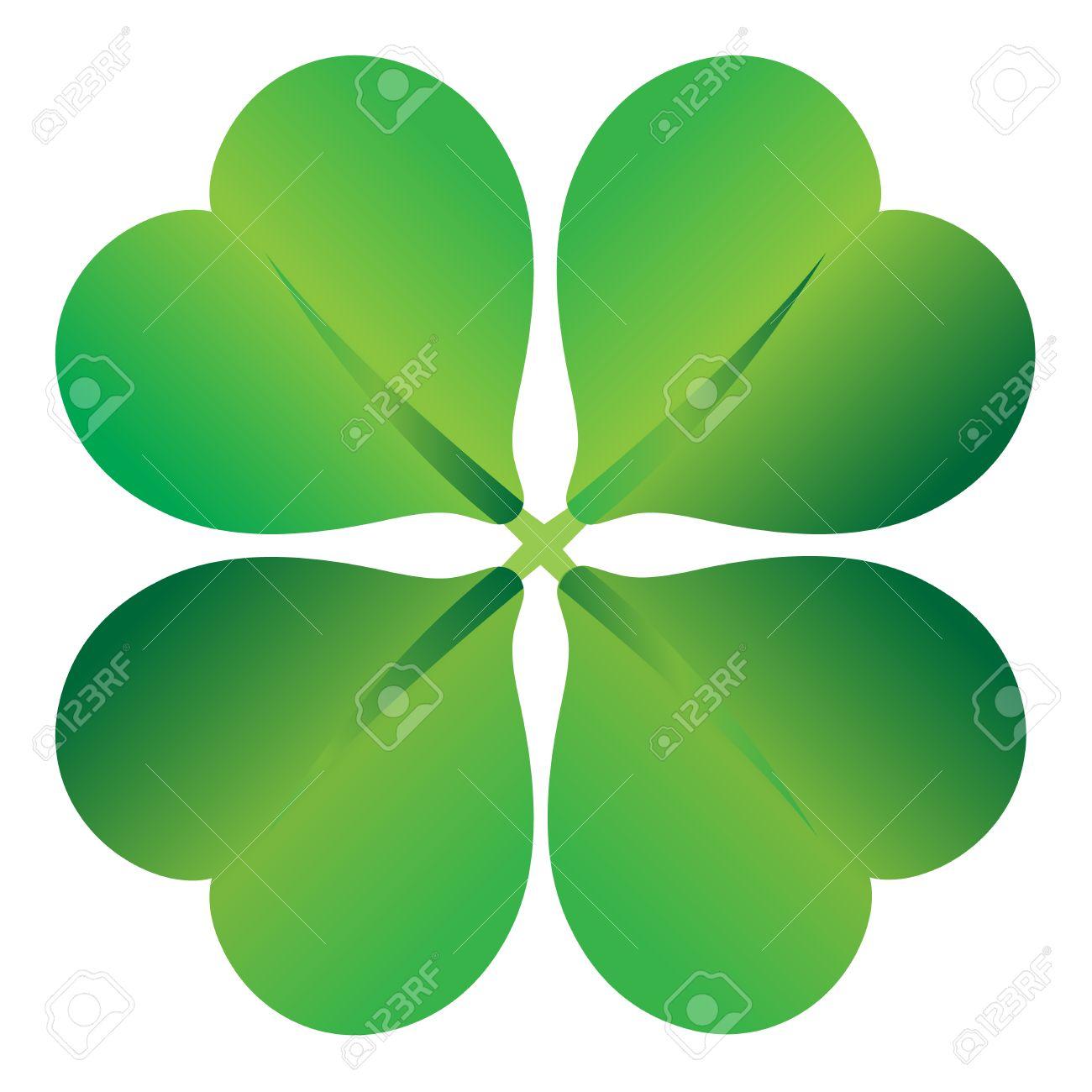 four leaf clover , shramrock vector illustration Stock Vector - 4507092