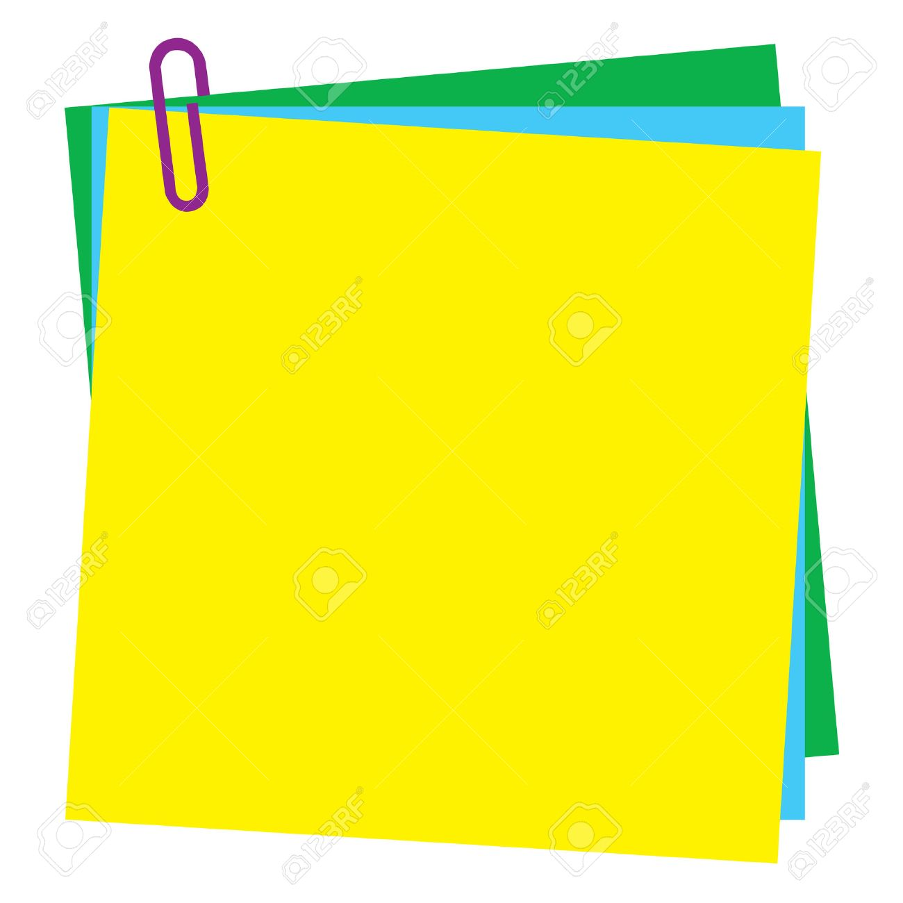 Free vector graphic sticky note note info paper free image on - Sticky Note Blank Post It Note Paper With Paperclip