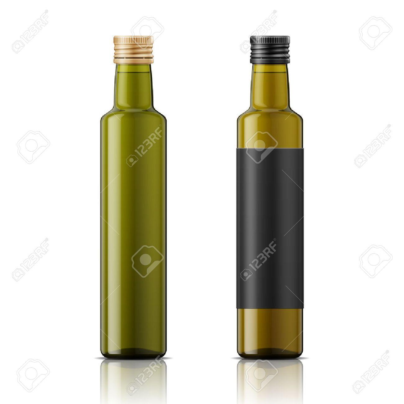 Bien-aimé Bouteille En Verre Avec Bouchon à Vis Pour L'huile D'olive Ou De  KM29