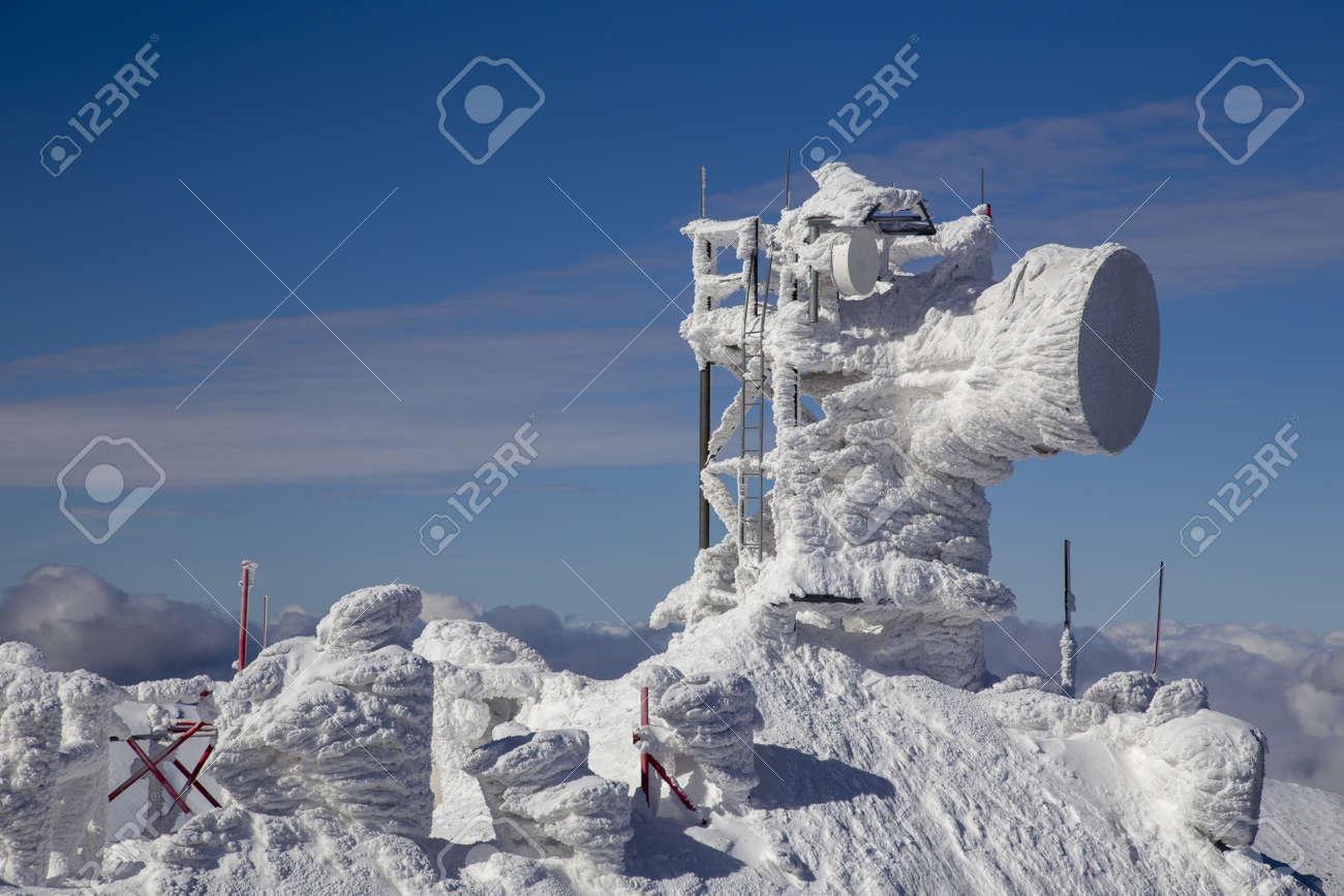 snow mountain Slovakia ski winter Jasna Europa - 164662287