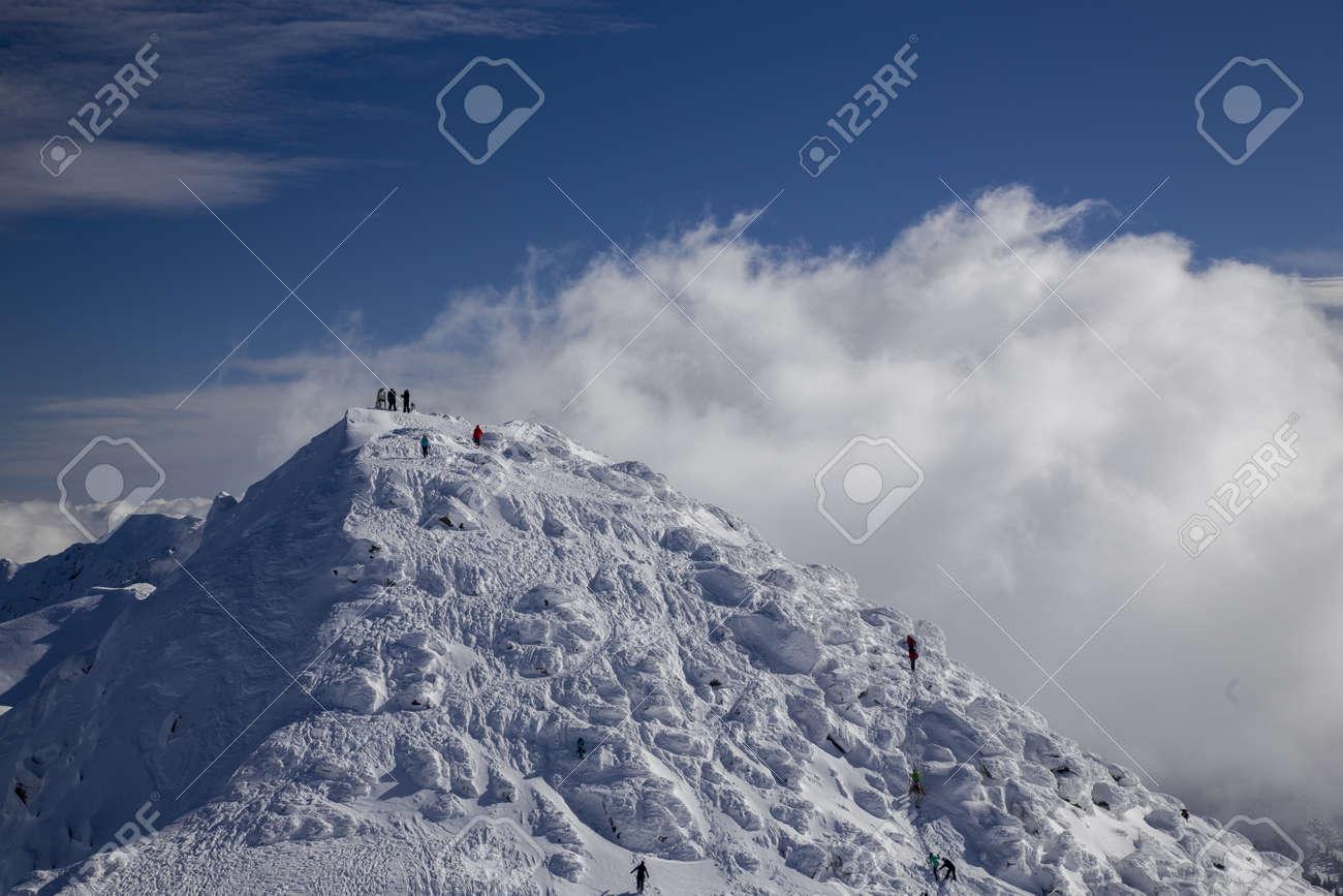 snow mountain Slovakia ski winter Jasna Europa - 164662516