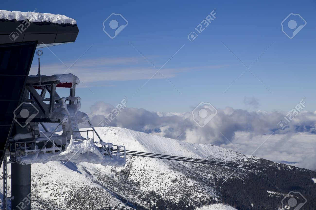 snow mountain Slovakia ski winter Jasna Europa - 164661993