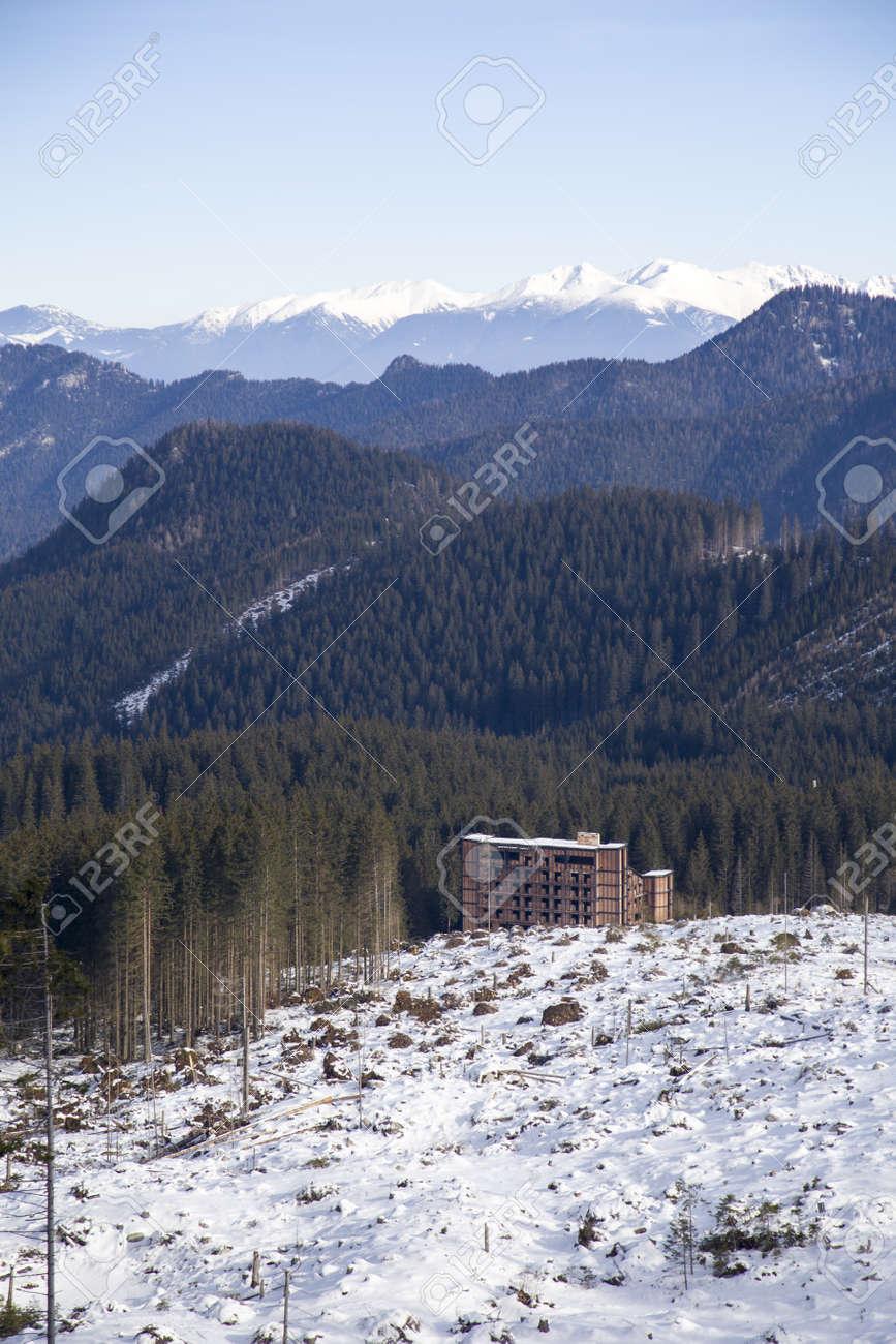snow mountain Slovakia ski winter Jasna Europa - 164662021
