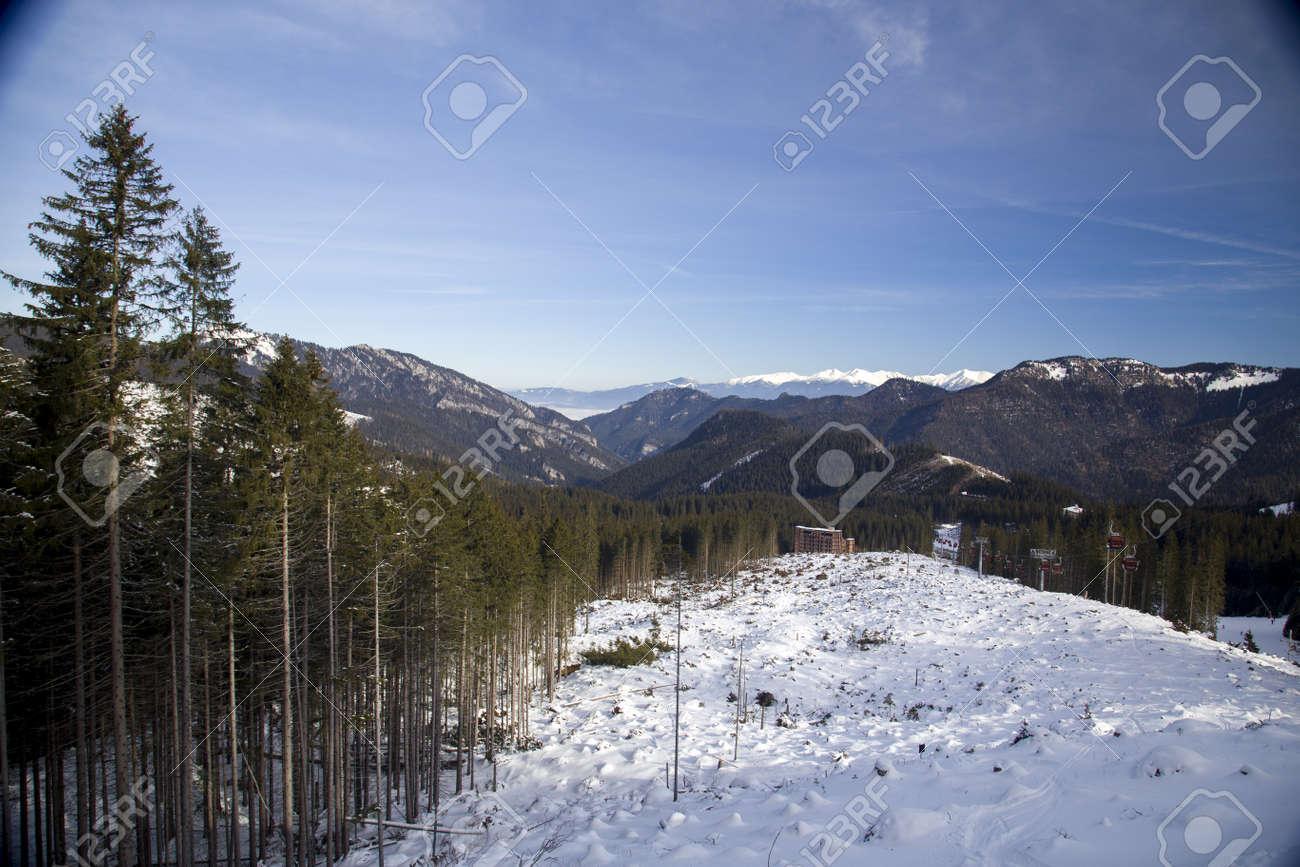 snow mountain Slovakia ski winter Jasna Europa - 164662065