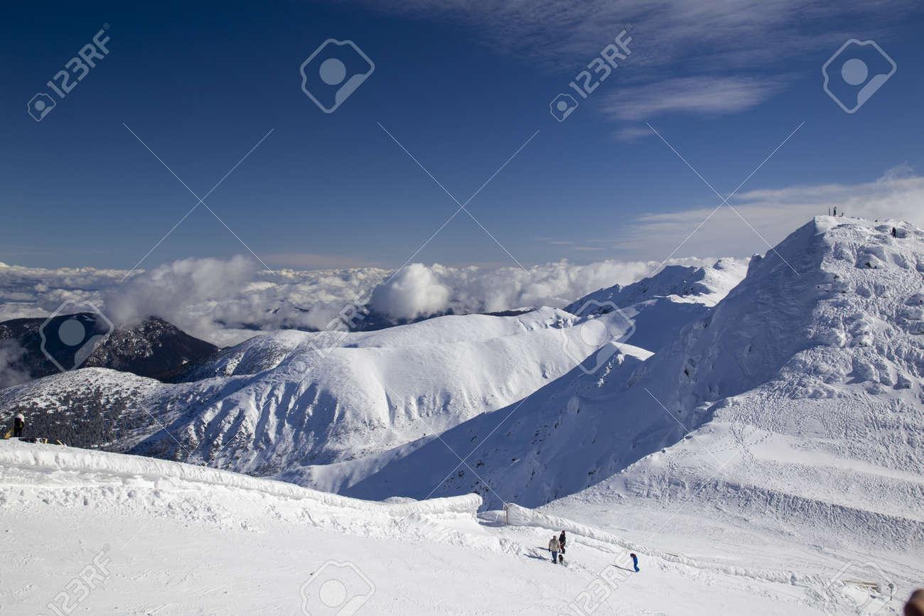 snow mountain Slovakia ski winter Jasna Europa - 164662040