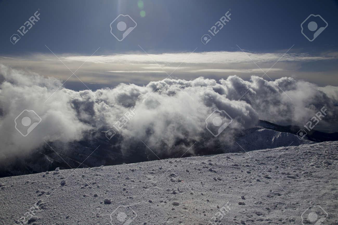 snow mountain Slovakia ski winter Jasna Europa - 164662196