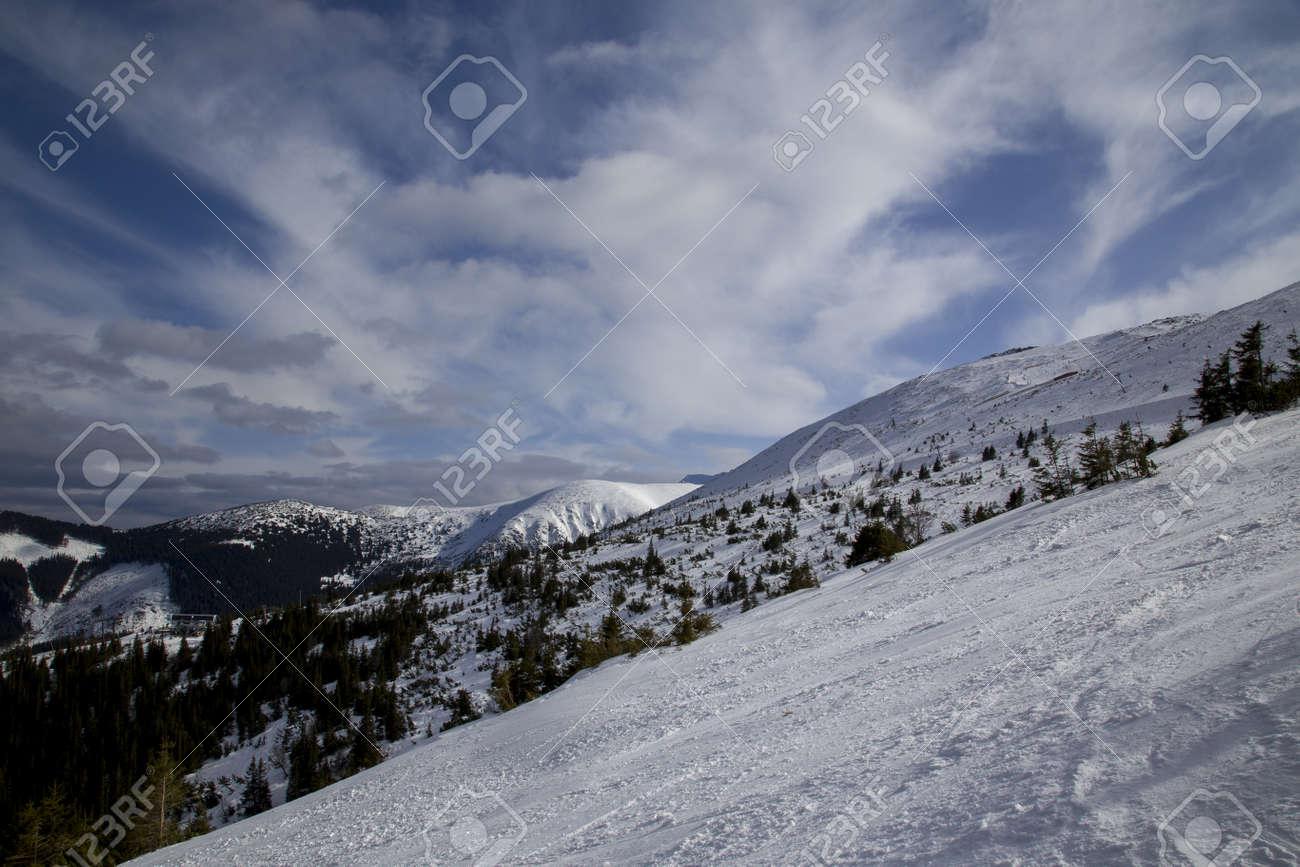 snow mountain Slovakia ski winter Jasna Europa - 164717133