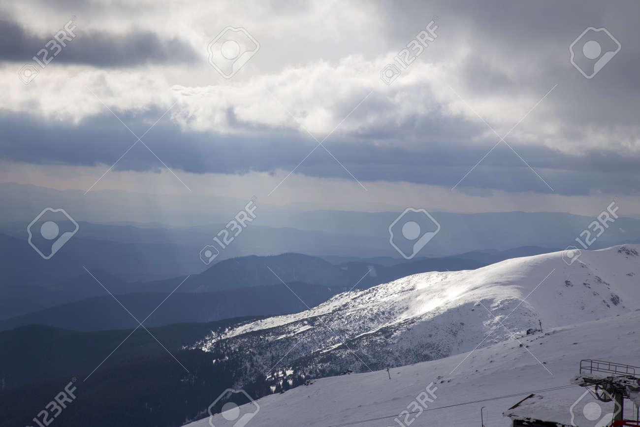 snow mountain Slovakia ski winter Jasna Europa - 164717395