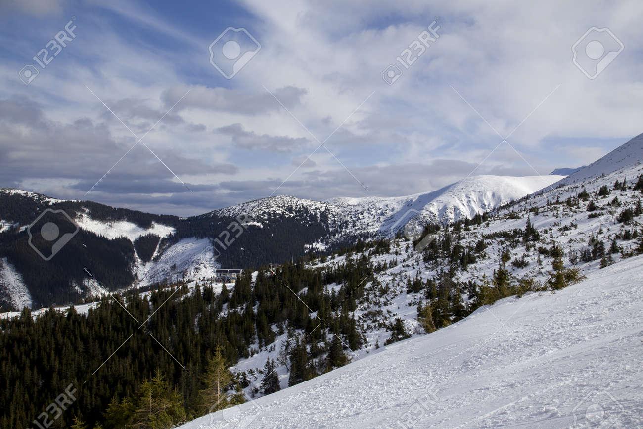 snow mountain Slovakia ski winter Jasna Europa - 164717685