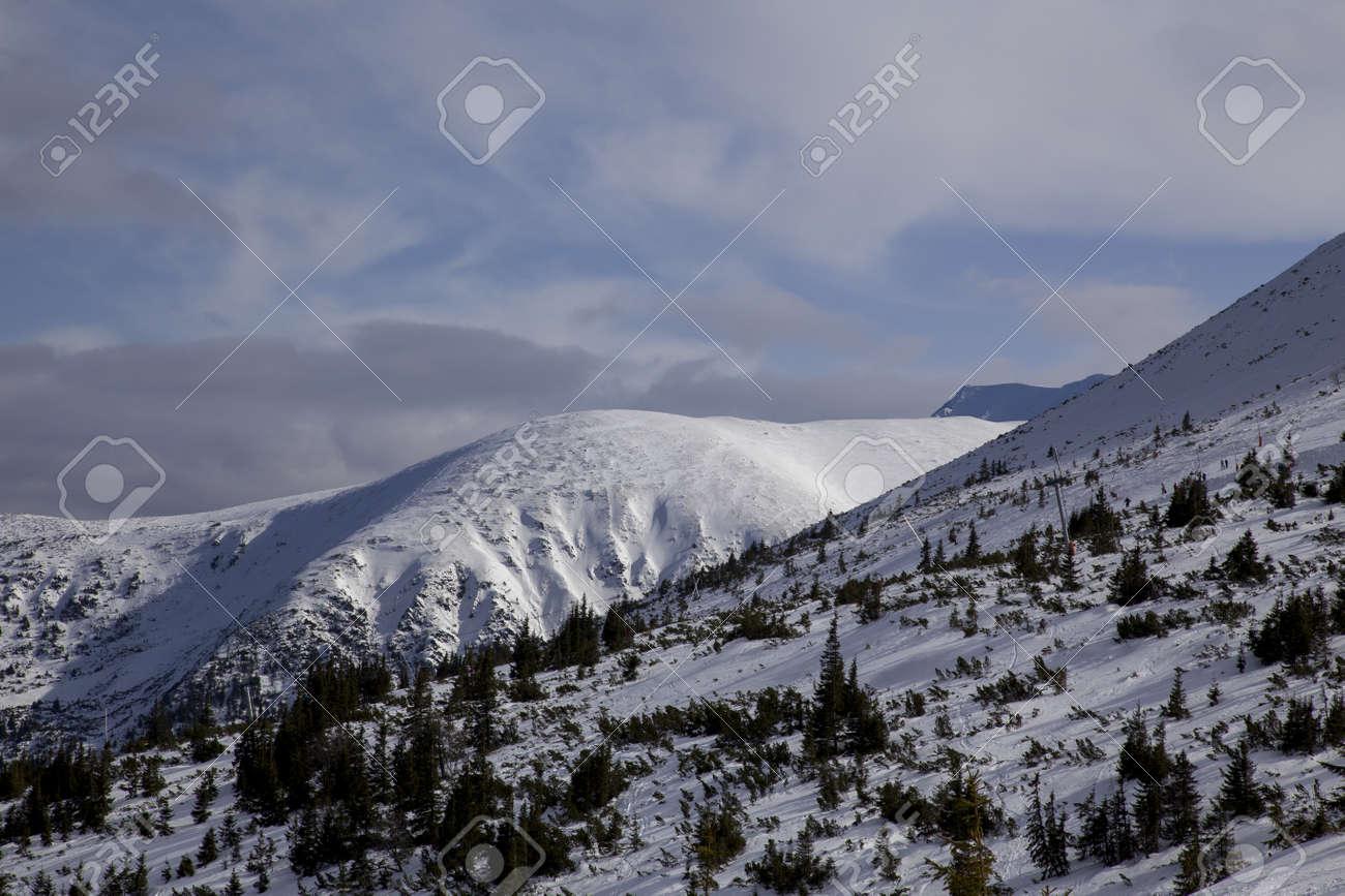 snow mountain Slovakia ski winter Jasna Europa - 164717717