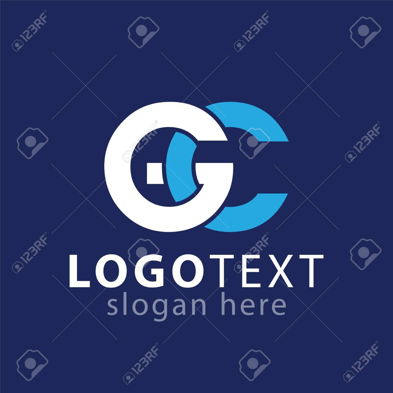 G C Initial letter logo vector - 107321803