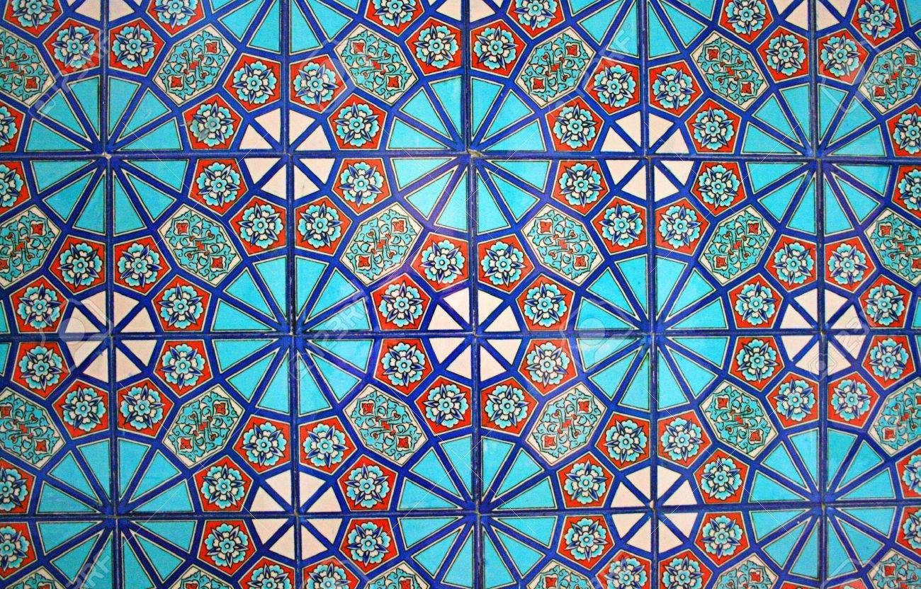 Turkish Wall Tile Stock Photo - 11041602