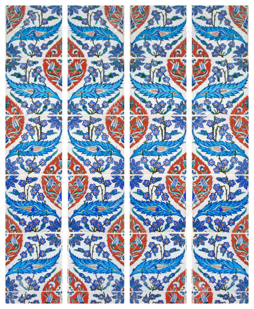 Old ,OriginalTurkish Wall Tiles Stock Photo, Picture And Royalty ...