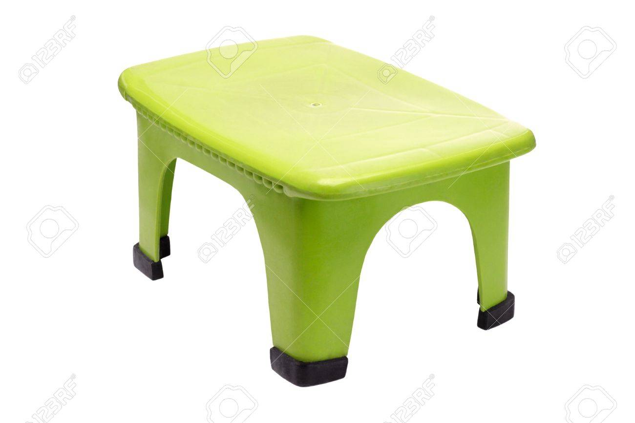 Prime Small Green Plastic Stool On White Background Squirreltailoven Fun Painted Chair Ideas Images Squirreltailovenorg