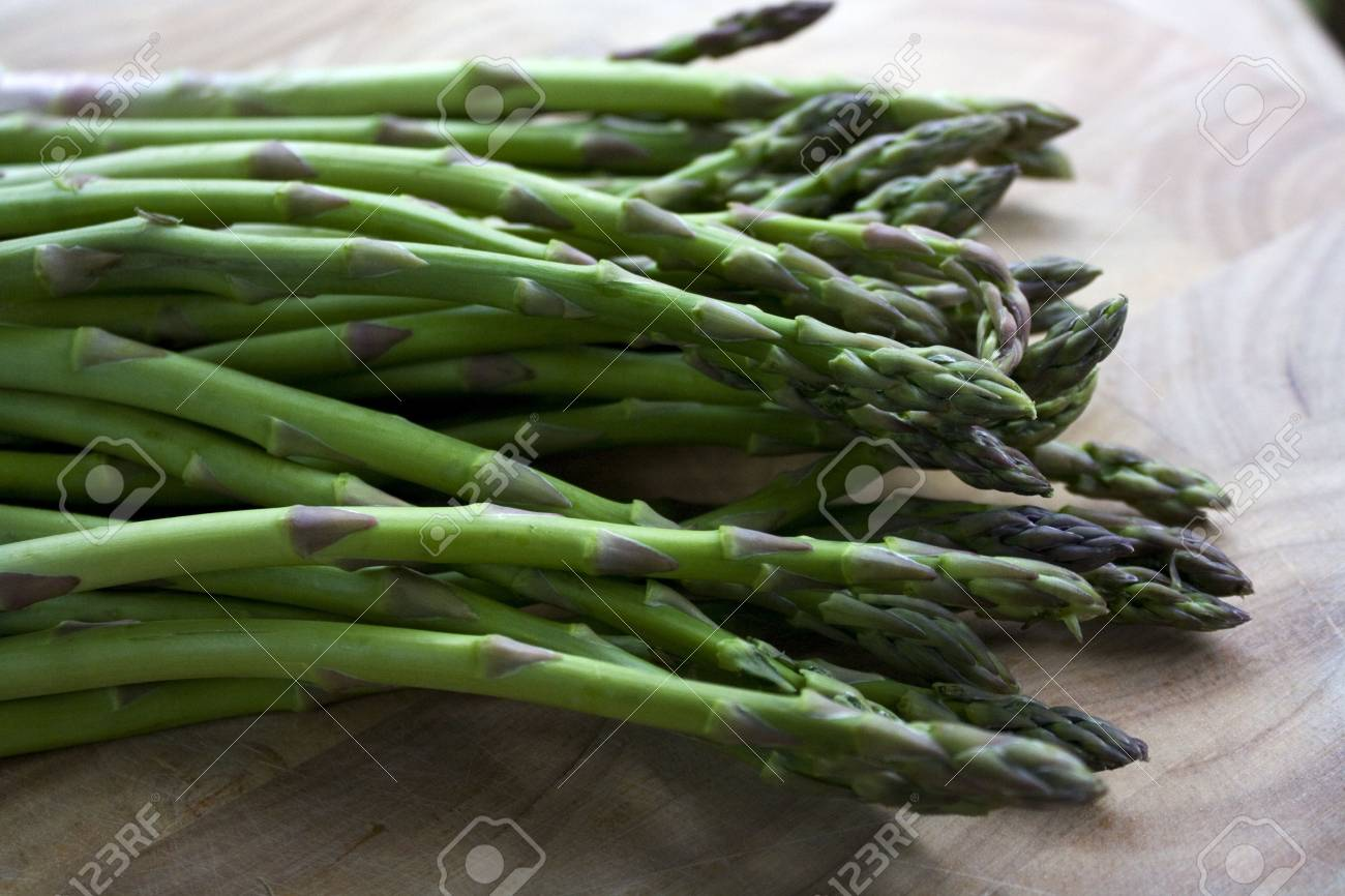 Close up of asparagus Stock Photo - 7911308