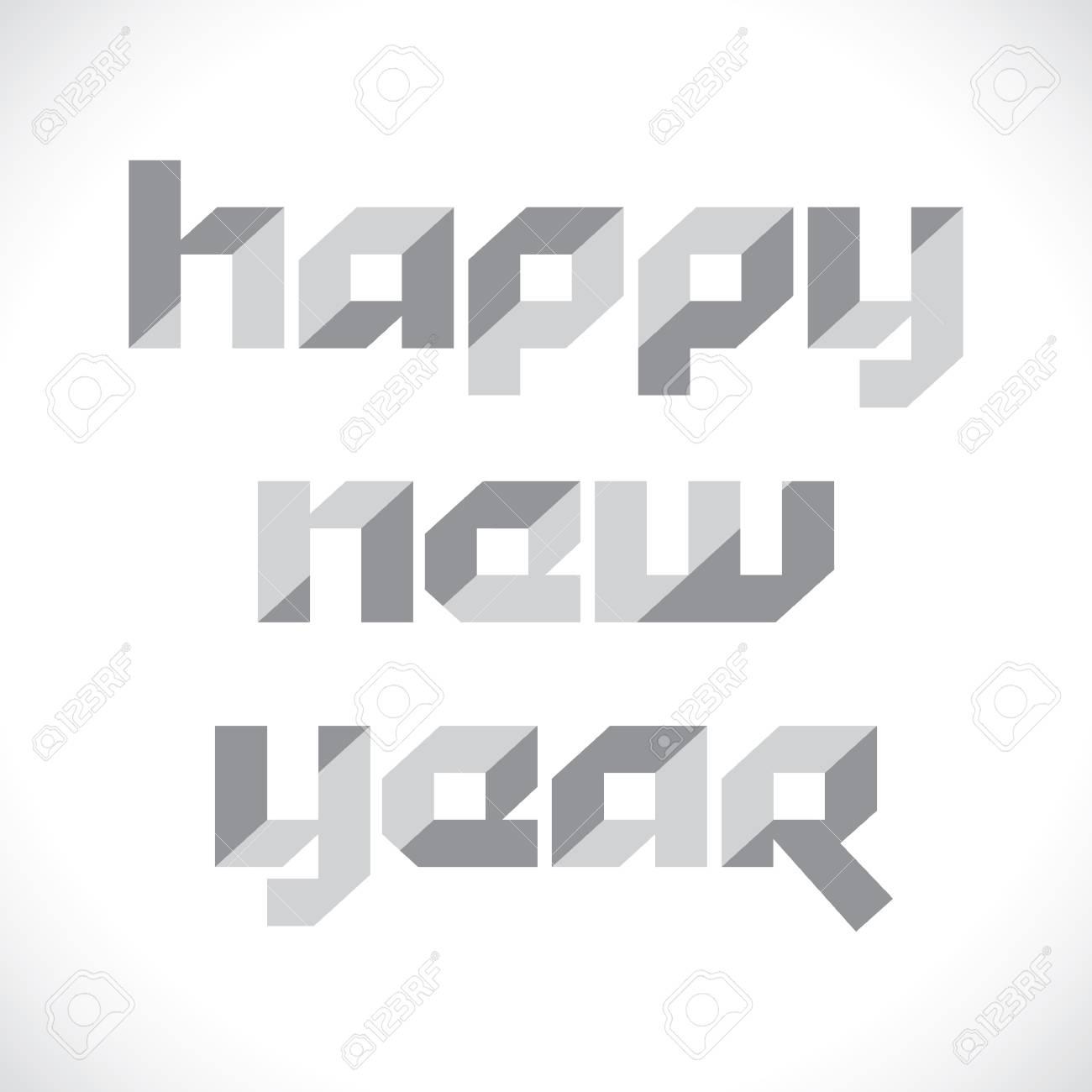 new year stock vector Stock Vector - 16845712