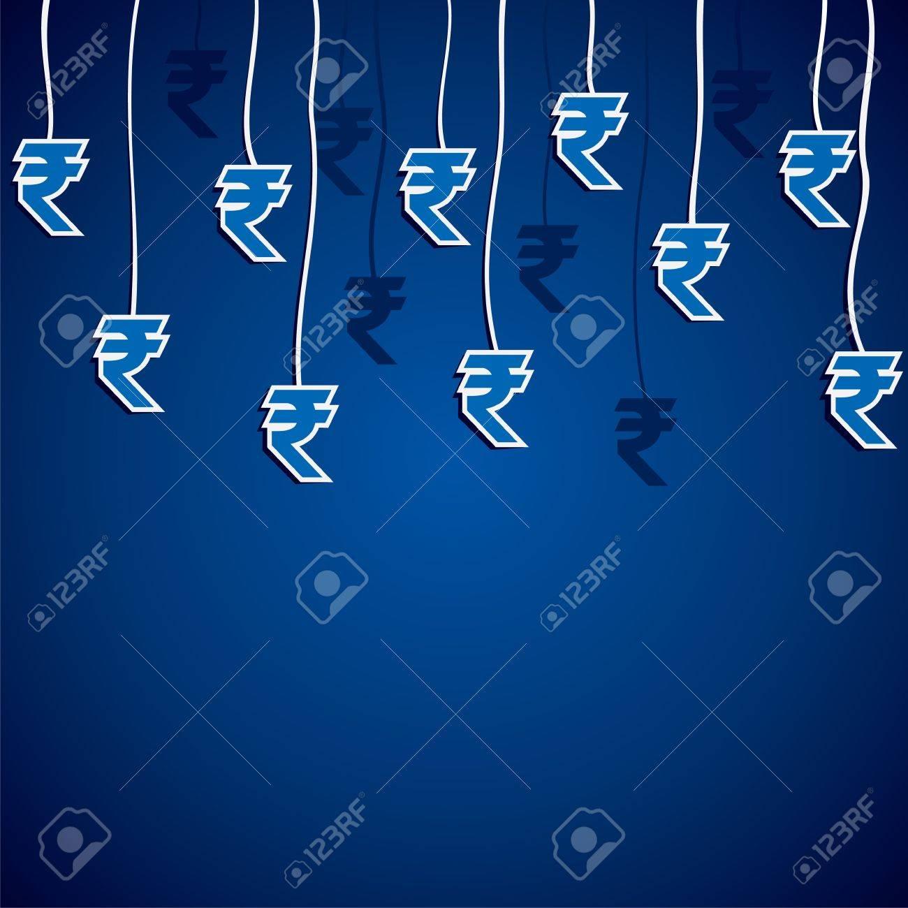 Rupee Note Vector Vector Rupee Currency Symbol
