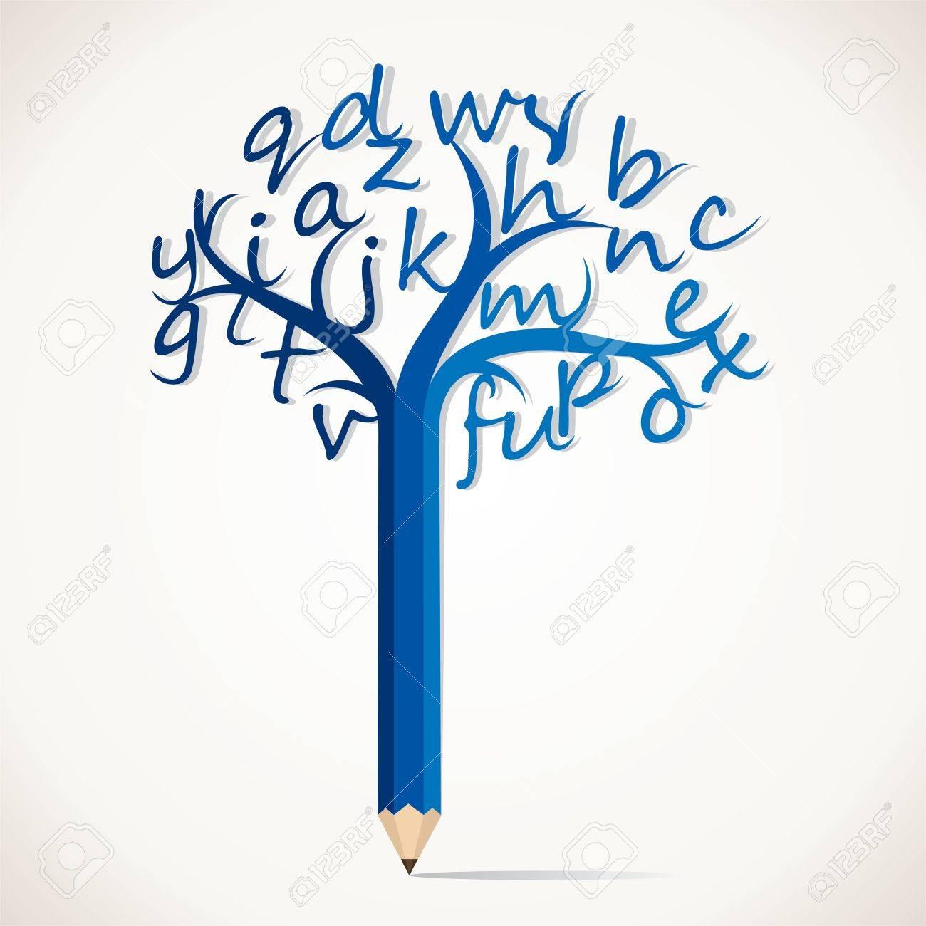 alphabetical tree stock royalty cliparts vectors and stock vector alphabetical tree stock