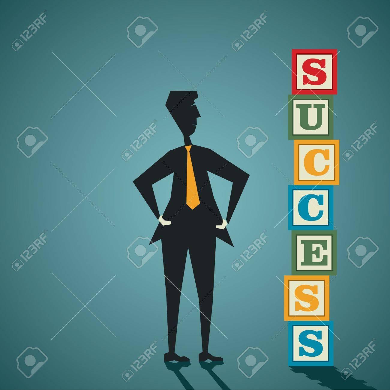 success word building block stock vector Stock Vector - 19486631