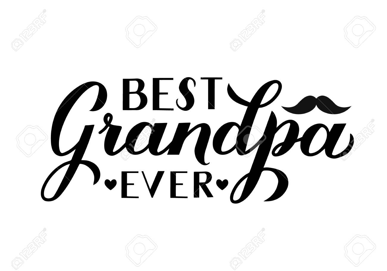 Best Grandpa Ever White T-Shirt Grandpa Shirt Gifts for Grandparents