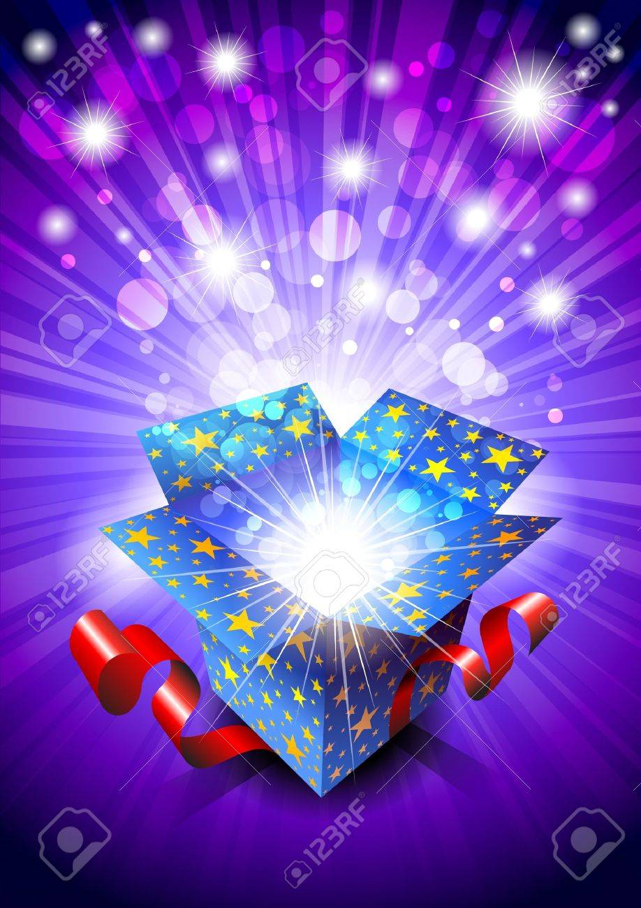 Gift Box Stock Vector - 9275024